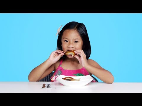 Kids Try BBQ from Around the World | Kids Try | HiHo Kids