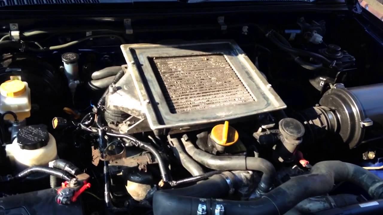 Nissan Frontier Diesel >> Navara d22 2.7td conversion - YouTube