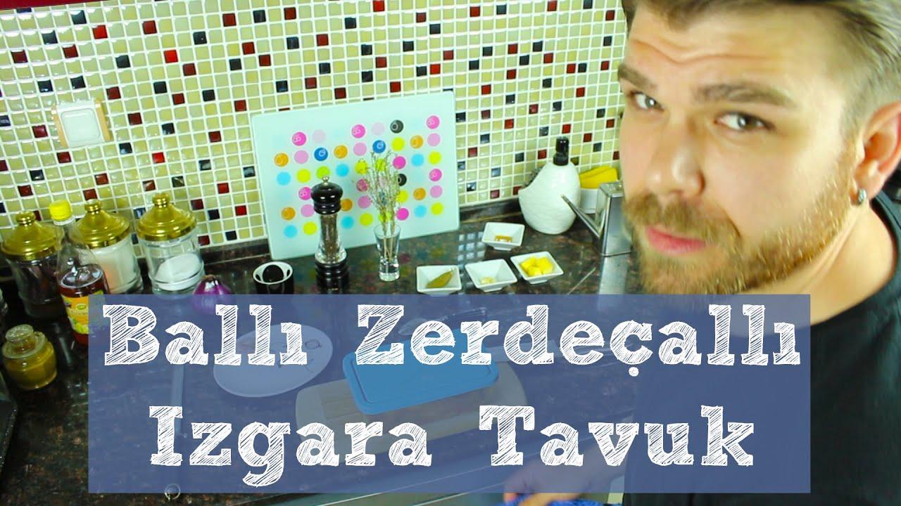 Izgara Tavuk Tarifi - Ballı Zerdeçallı - Yemek Tarifi