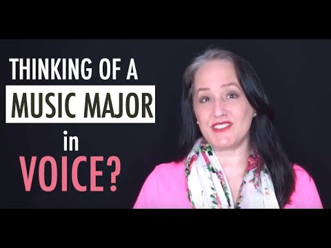 Majoring in Music as a Voice Major in College - What You Need to Know!