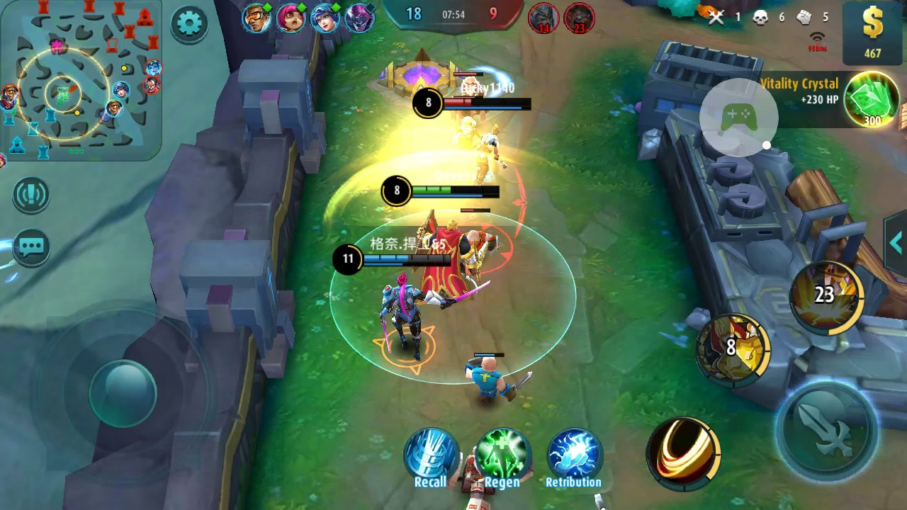 mobile legends : bang bang gameplay