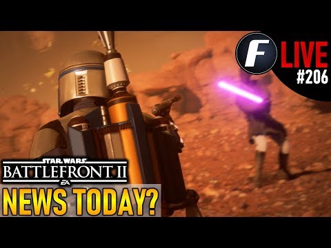 NEWS TODAY? Star Wars Battlefront 2 Live Stream #206 thumbnail