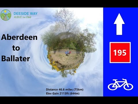 National Cycle Route 195 - The Deeside Way