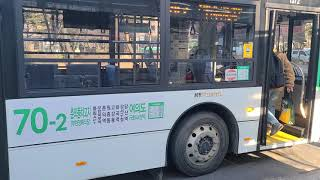 소신여객  70-2번버스 하이거 하이퍼스 11L