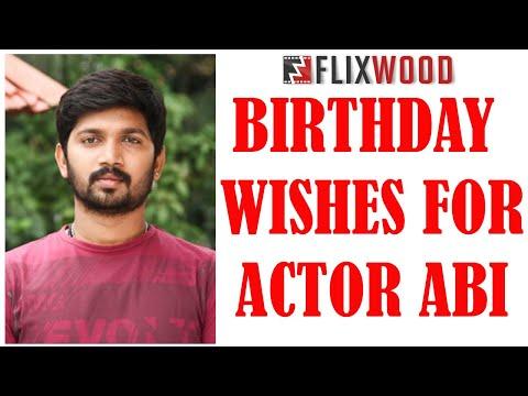 Happy Birthday Actor Abi Saravanan l அபி சரவணன் | SOCIAL STAR | Tamil l FLIXWOOD