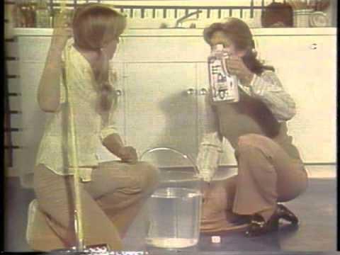 Future Floor Polish Ad with Mary Frann 1978