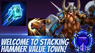 Muradin Haymaker - WELĊOME TO STACKING HAMMER VALUE TOWN! - Grandmaster Storm League