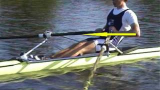 Rudertechnik rowing technique RCB Skiff