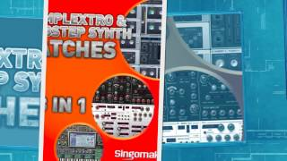 Complextro Dubstep Soft Synth Presets - Sylenth Predator Massive Synth Patches