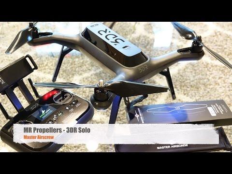 Solo Propeller Upgrade - Master Airscrew - Installation Video