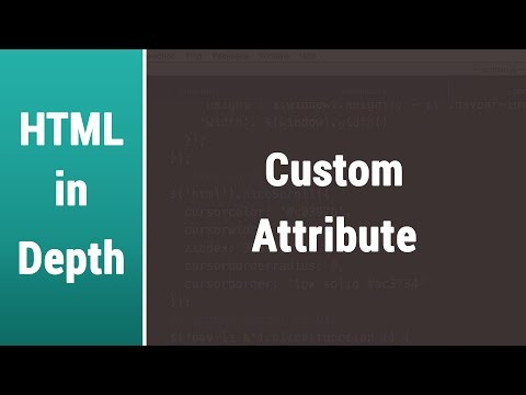 Arabic Html Lessons - Learn Custom Attributes With Examples