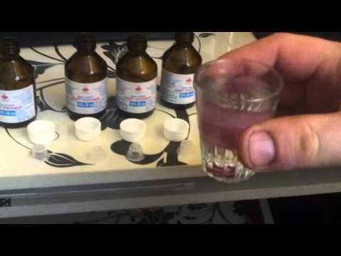 Как пить разведённый медецинский спирт