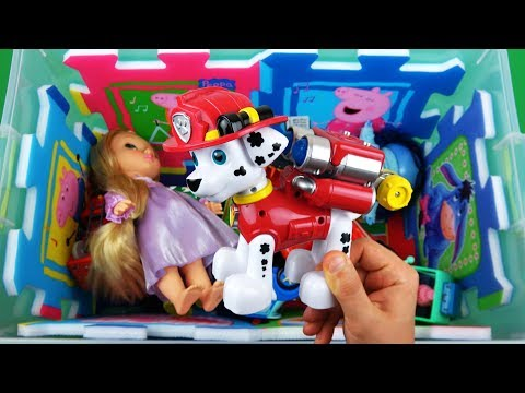 Optimus Prime, Pepa Pig, Marshall, Percy, Elsa etc. learn colors with vehicles, insects & characters