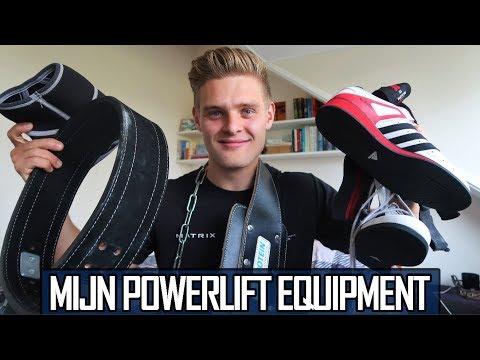Mijn Favoriete POWERLIFT Equipment! - Powerlift Prep #3
