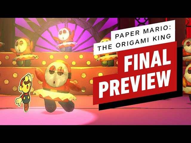 Paper Mario: The Origami King – Final Preview