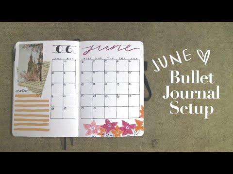 Christian Bullet Journal | JUNE 2020 (Catholic Edition)
