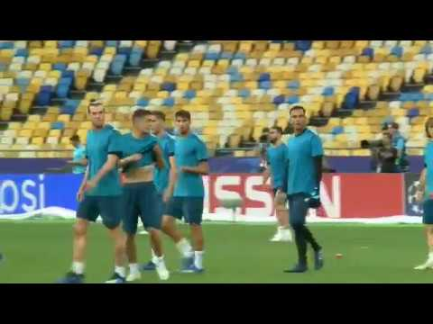 Sigue en VIVO desde Kiev el entrenamiento del Real Madrid previo a la final de Champions.
