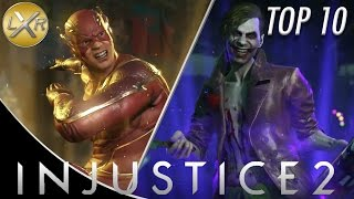 Injustice 2 - Top 10 Character Super Moves