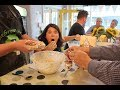 A creative Irish five-course meal and cooking course in ...