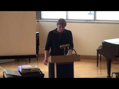 Vlad's Senior Speech, December 2014, Mounds Park Academy