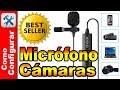 Micrófono De Solapa Para Cámaras Canon o Nikon MAONO Lavalier Microphone