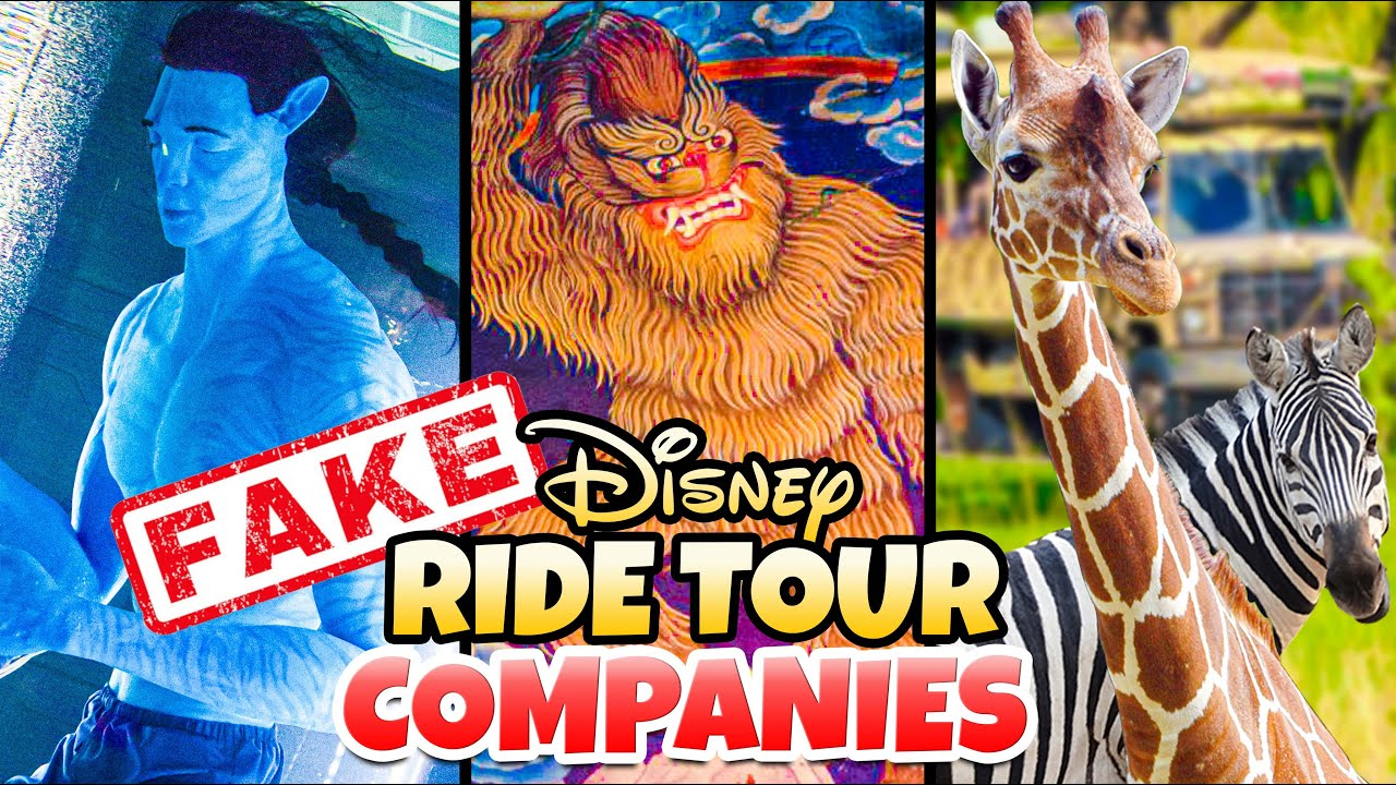 Top 5 Fake Disney Ride Travel Companies at Disney World - Animal Kingdom