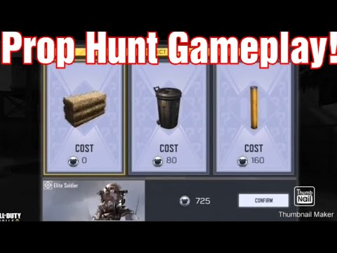Call Of Duty Mobile Is Getting A Prop Hunt Mode Dot Esports