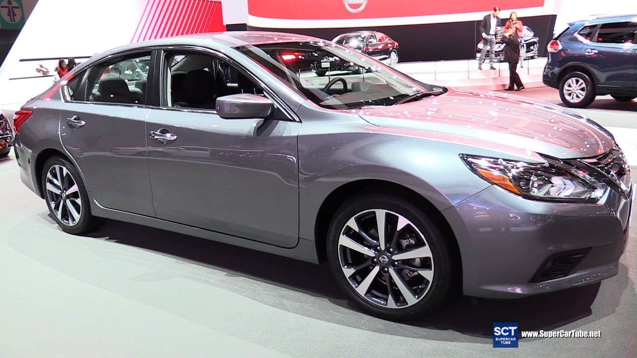 2016 nissan altima 3 5 sr exterior and interior walkaround 2015 la auto show youtube. Black Bedroom Furniture Sets. Home Design Ideas