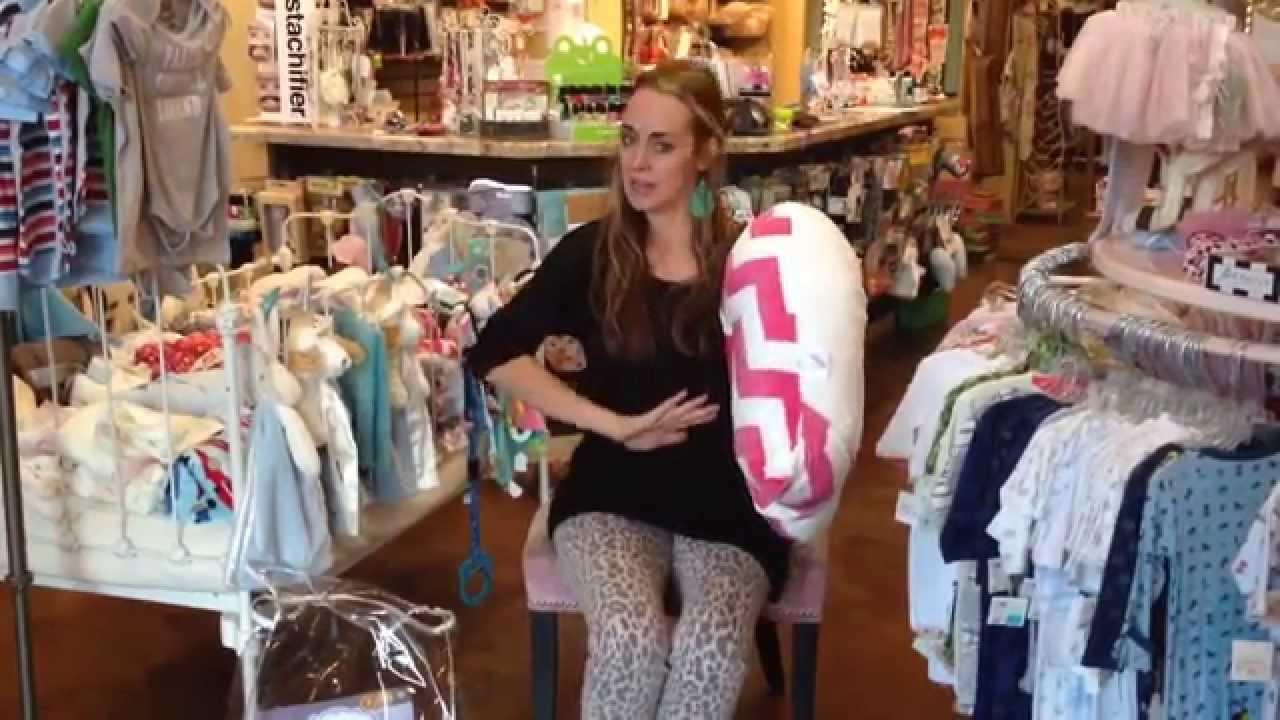 Best Nursing Pillow Ever Luna Lullaby S Bosom Baby Youtube