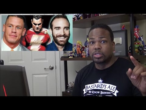 John Cena and Joshua Sasse Frontrunners for SHAZAM?!!