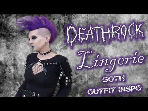 OOTD: Deathrock Lingerie   Madame Absinthe