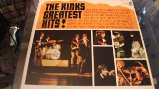 THE KINKS - SET ME FREE - GREATEST HITS LP RECORD