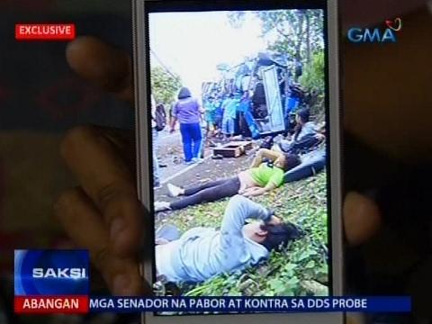 Saksi: Estudyanteng unang humingi ng tulong sa Facebook, kabilang sa mga nakaligtas sa Tanay tragedy