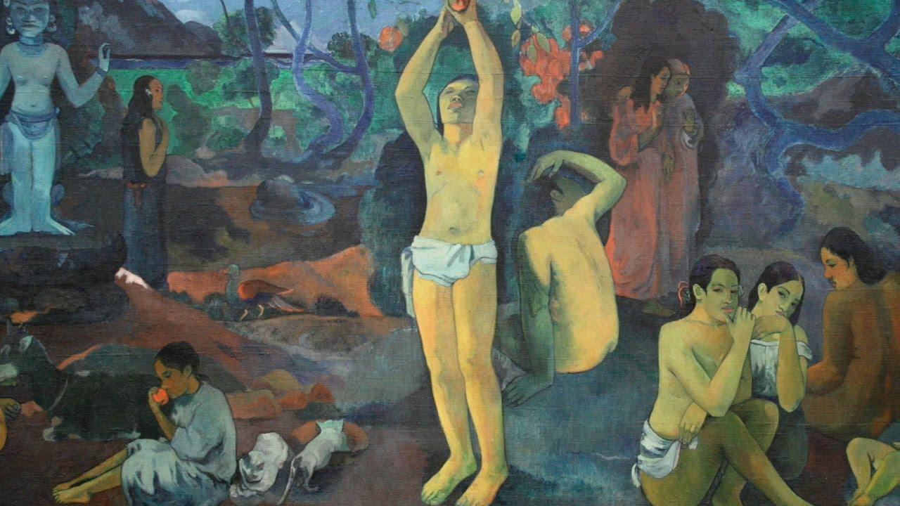 Paul gauguin where do we come