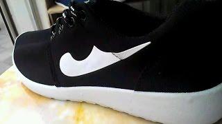 Обзор обуви! Кроссовки  черного цвета