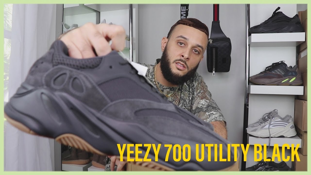 quality design 24dc7 aaba8 WATCH BEFORE YOU BUY ADIDAS YEEZY BOOST 700 UTILITY BLACK