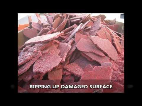Replacing Resin Bonded SuDS Specification Merseyside