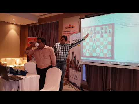 Train your chess with T.J. Suresh Kumar