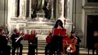 T.Albinoni Concerto per Oboe Op. 9 n.2 Allegro non presto Cristina Monticoli, Accademia Vivaldiana
