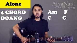 Chord Gampang (Alone - Alan Walker) by Arya Nara (Tutorial Gitar) Untuk Pemula