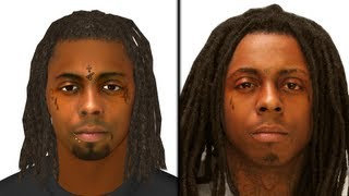 FIFA 15 - Gameface Tutorial - Lil Wayne (front & side view) + DOWNLOAD