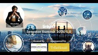 Presenting Company TribeHerald by Yitz Jordan, at Linked Ventures Investor Summit