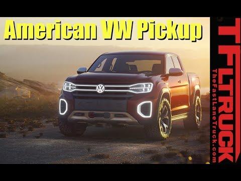 A VW Pickup Made in America? Atlas Tanoak and Atlas Cross Sport SUV Revealed - TFLfront Row