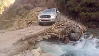 Dangerous Extreme Road: 4x4 Offroad to Manang, Nepal in a Ford Everest/ Ford Endeavour