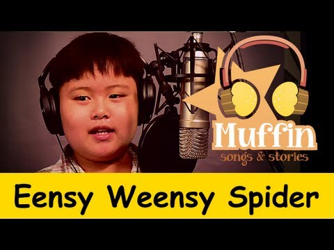 Eensy Weensy Spider (Itsy Bitsy)  | Family Sing Along - Muffin Songs
