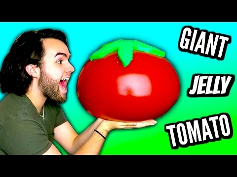 DIY GIANT JELLY TOMATO! | How To Make HUGE Gummy Jello Timato Tutorial | 1,000,000 SUBSCRIBERS!