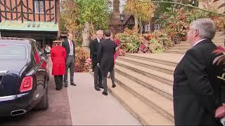 Jack Brooksbank arrives for wedding to Princess Eugenie