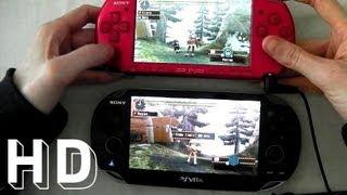 PS VITA vs Sony psp 3000 with Monster Hunter Freedom Unite