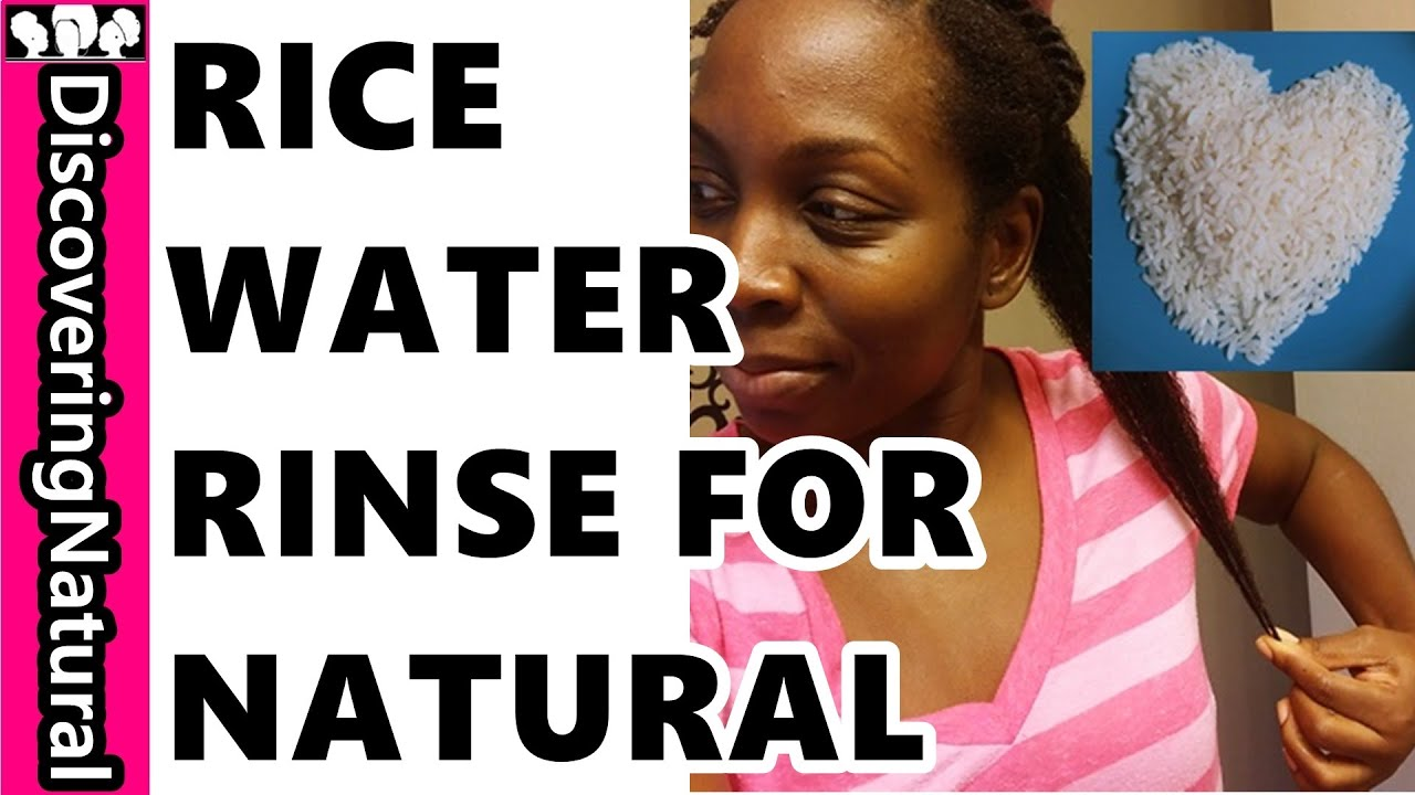 How To Use Rice Water For Natural Hair Growth And Healthy Skin #naturalhair