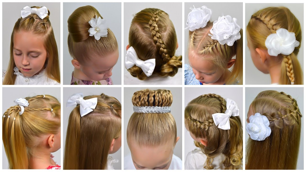 10 EASY HEATLESS BRAIDED BACK TO SCHOOL HAIRSTYLES! (Little girls  hairstyles #10) #LGH